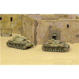Tanques 1/72 Sd. Kfz 161 Pz. Kpfw IV F1-F2 (2 Fast assembly mod.) ITALERI