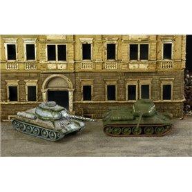 Tanques de Rusia T34/85 (inclyue 2 unidades) 1/72 - ITALERI