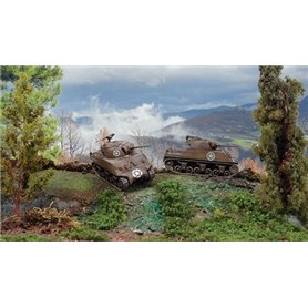 Tanque 1/72 M4A3 75mm Sherman (2 fast assembly mod.) ITALERI