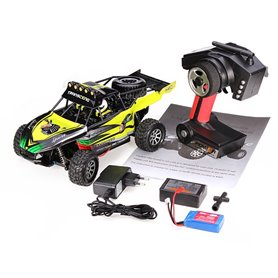 Coche RC Buggy Desert Wltoys VORTEX 1/18 50Km/h (Brushed)