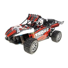 Coche rc buggy desert 1/18 RTR 2,4ghz Storm 35km/h WLToys