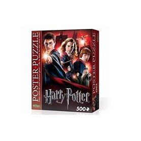 Poster Puzzle Harry Potter - Hogwarts School - 500 piezas