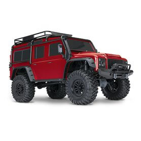 Coche rc Land Rover Defender TRX-4 Traxxas