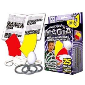 Kit 25 Trucos de Magia Sensacional de Bolsillo N1