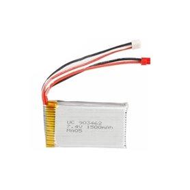 Batería Lipo 7,4V-1500mAh (JST BEC) para V913, L959 y WL912