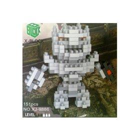 ROBOT EXTRATERRESTRE X-BLOCK 4 MM