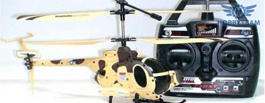 Helicoptero espia con camara