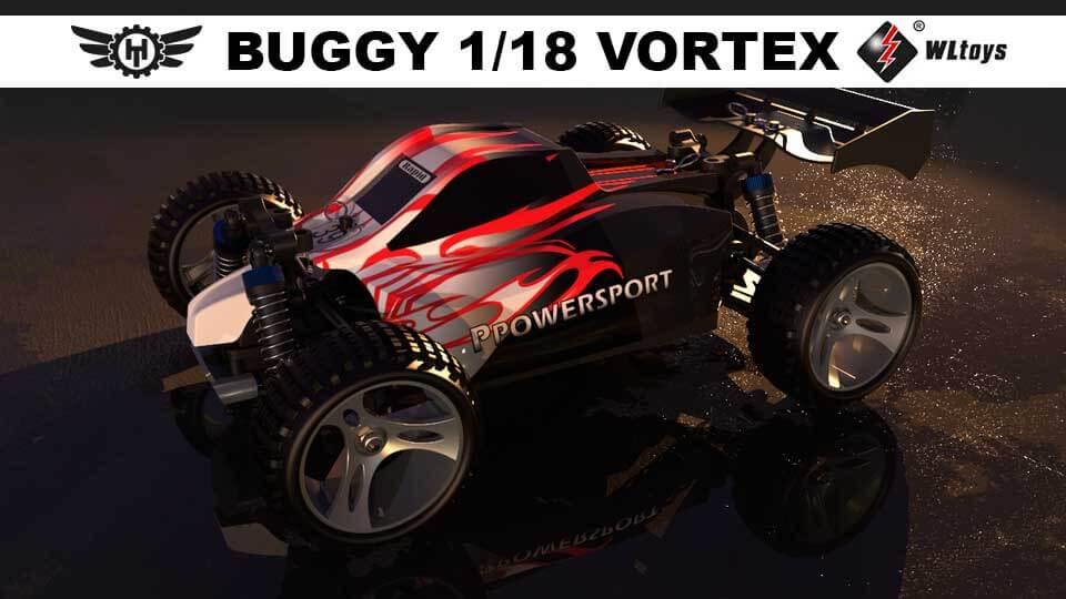 Compra ya al mejor precio el buggy rc Vortex WLtoys
