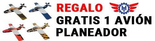 REGALO: 1 avión planeador compradno Helicóptero o Avión RC en Hobbyteam