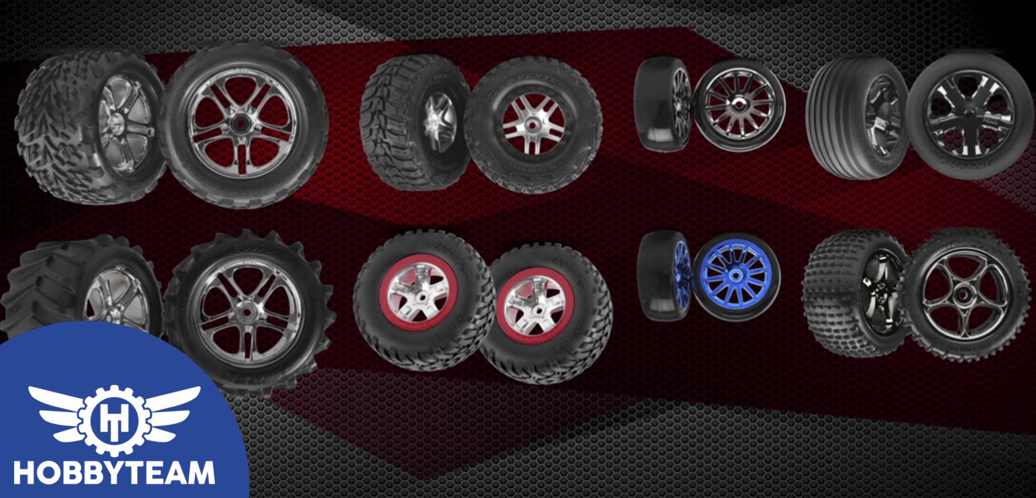 ¿Cómo cambiar los neumáticos en un coche RC?