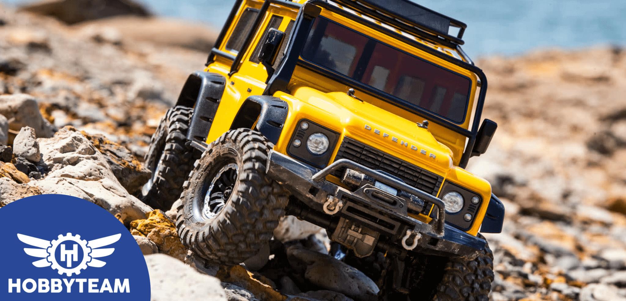 ¿Qué es un coche RC Crawler?
