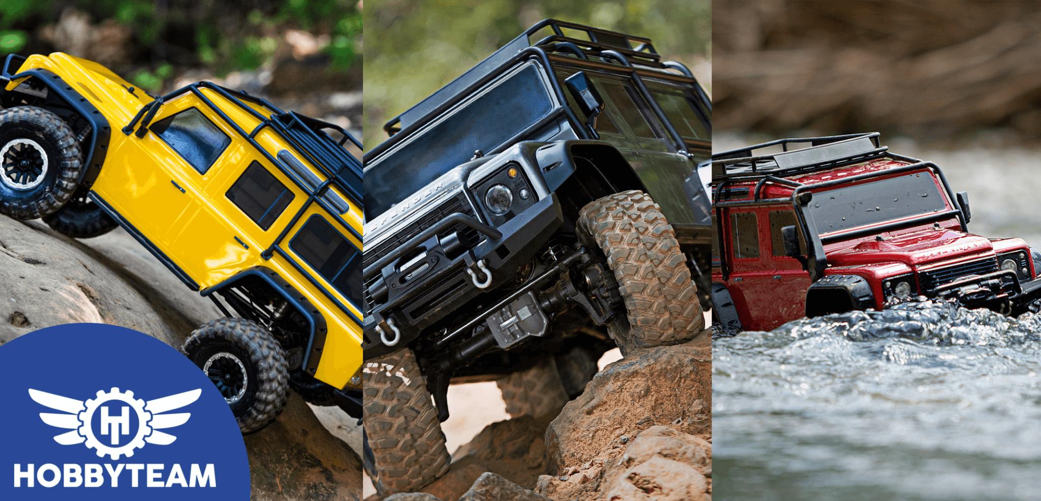 Descubre todas las ventajas del Traxxas TRX-4 Land Rover Defender
